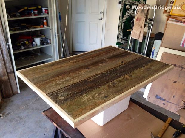 Reclaimed Wood Coffee Tables Ideas - 620 x 465 3