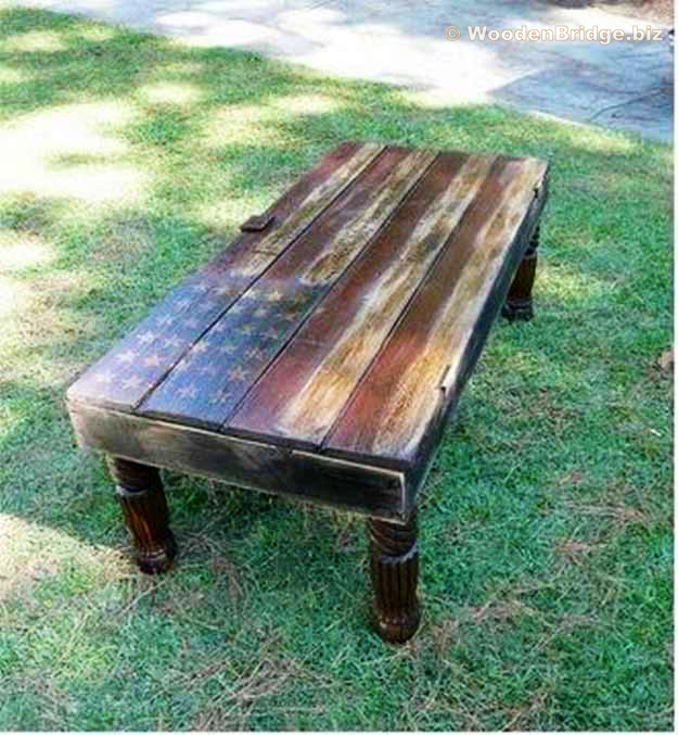 Reclaimed Wood Coffee Tables Ideas - 625 x 677