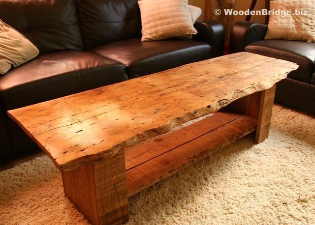 Reclaimed Wood Coffee Tables Ideas – 640 x 458