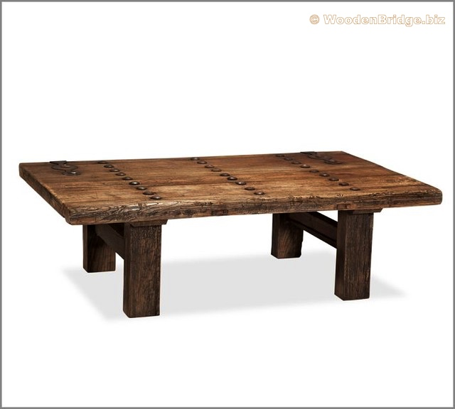 Reclaimed Wood Coffee Tables Ideas - 640 x 576