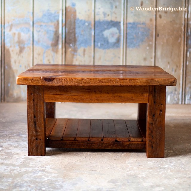 Reclaimed Wood Coffee Tables Ideas - 640 x 640 1