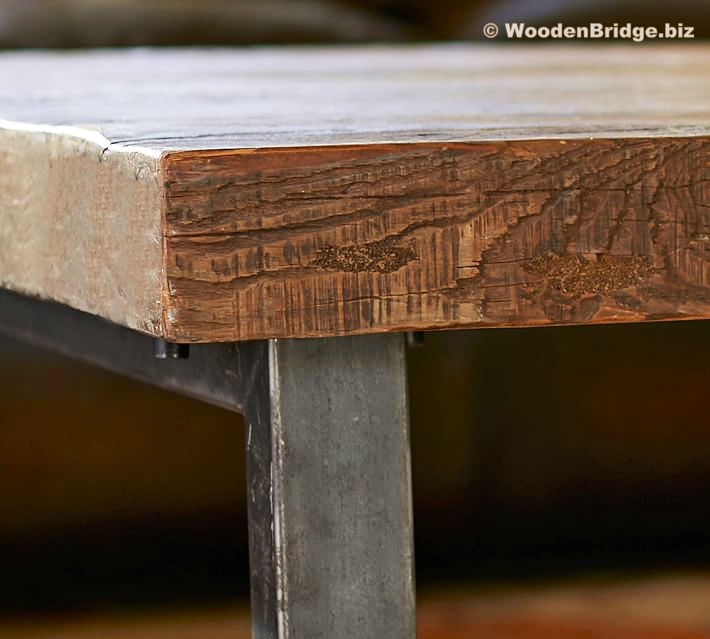 Reclaimed Wood Coffee Tables Ideas - 710 x 639 1
