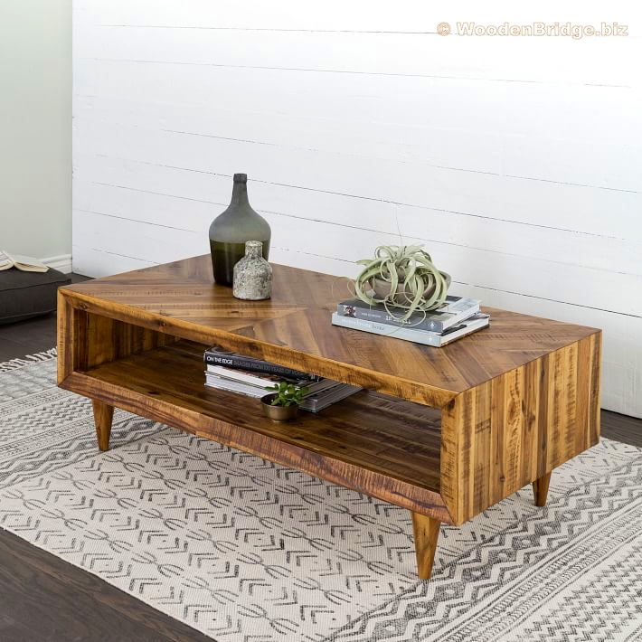 Reclaimed Wood Coffee Tables Ideas - 710 x 710 1