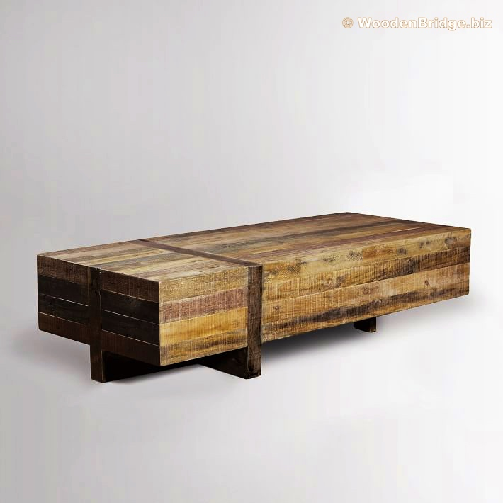 Reclaimed Wood Coffee Tables Ideas - 710 x 710