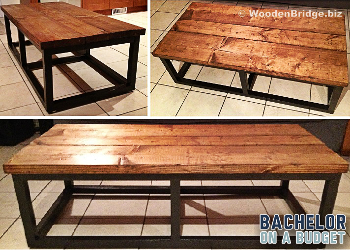 Reclaimed Wood Coffee Tables Ideas - 712 x 509