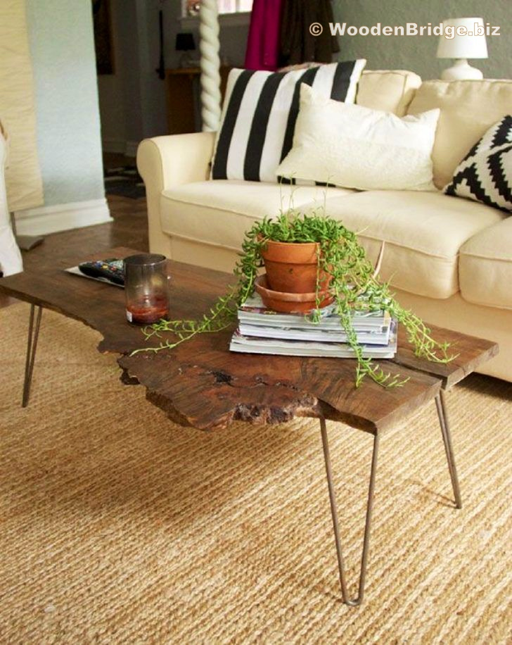 Reclaimed Wood Coffee Tables Ideas - 728 x 916