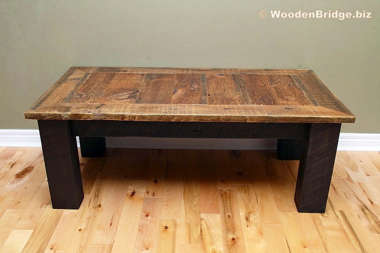 Reclaimed Wood Coffee Tables Ideas - 750 x 500