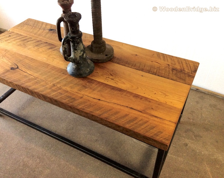Reclaimed Wood Coffee Tables Ideas - 750 x 597