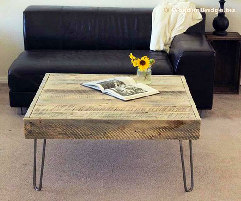 Reclaimed Wood Coffee Tables Ideas - 800 x 669