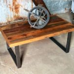 Reclaimed Wood Coffee Tables Ideas - 888 x 986