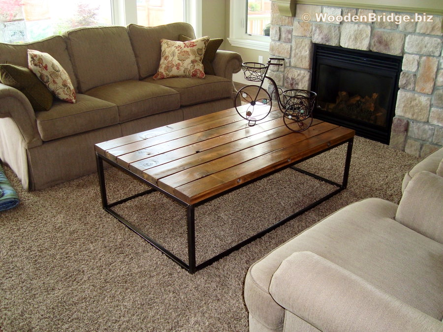 Reclaimed Wood Coffee Tables Ideas - 900 x 675 1