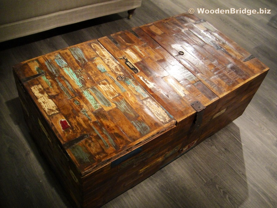 Reclaimed Wood Coffee Tables Ideas - 900 x 675