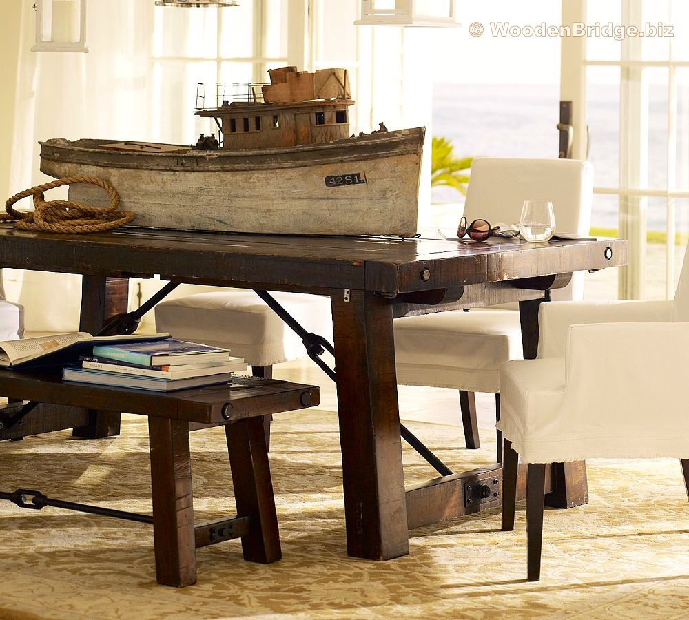 Reclaimed Wood Dining Table Ideas – 1000 x 900