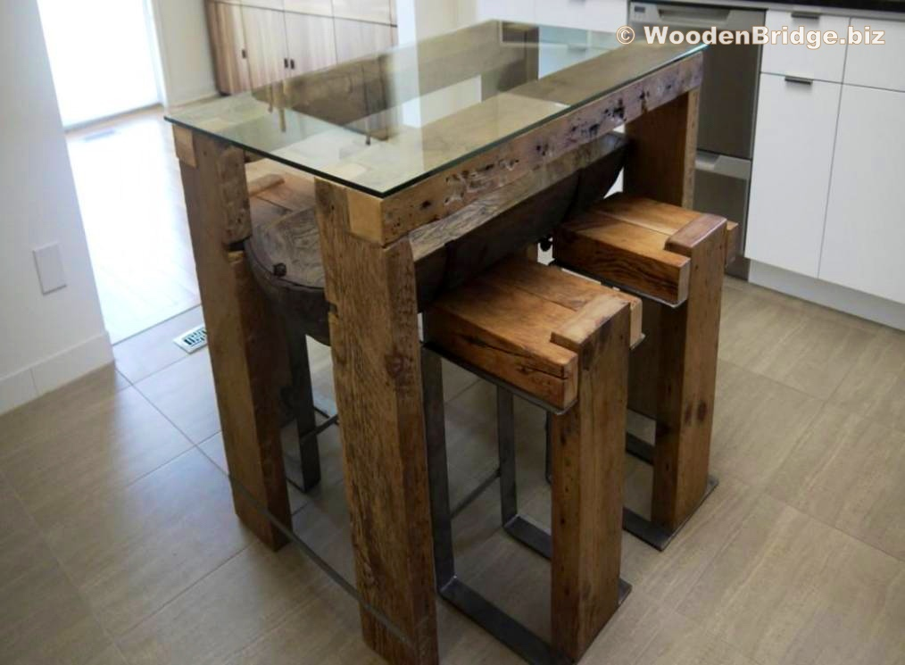 Reclaimed Wood Dining Table Ideas - 1014 x 745