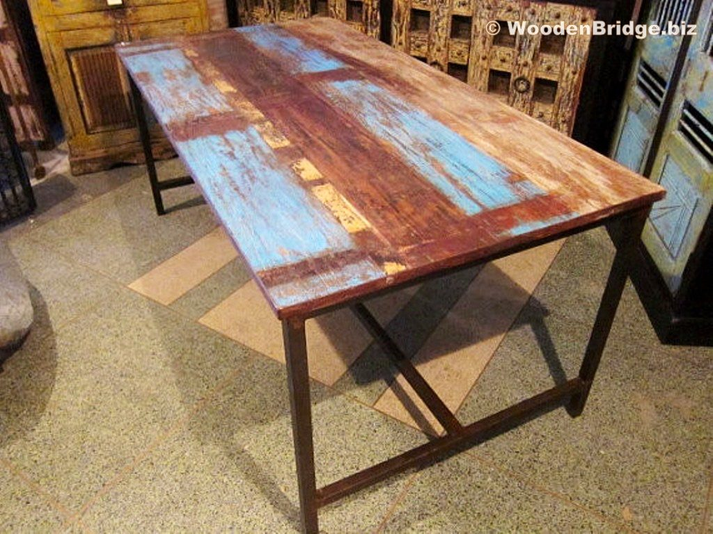 Reclaimed Wood Dining Table Ideas - 1024 x 768 3