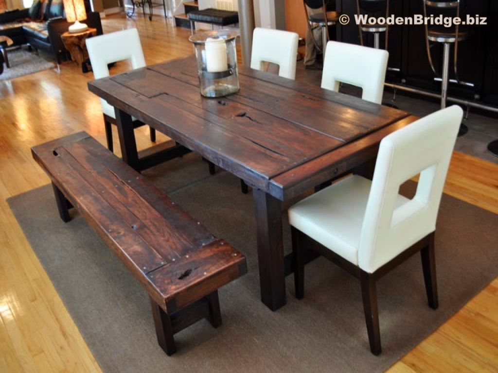 Reclaimed Wood Dining Table Ideas - 1024 x 768