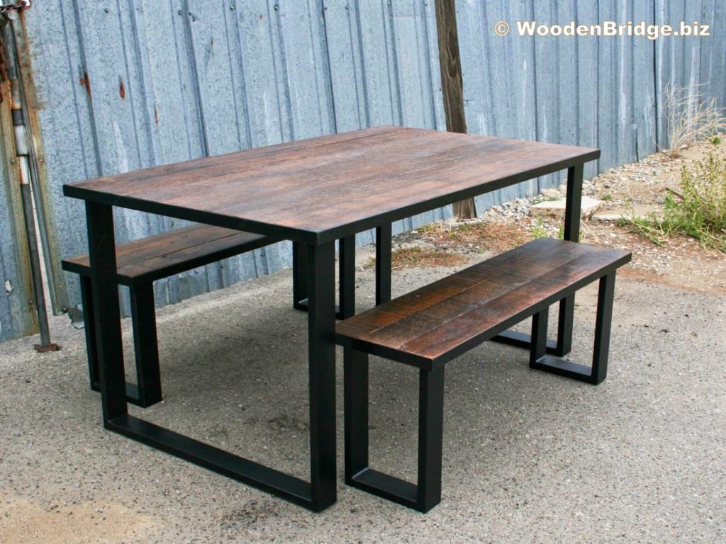 Reclaimed Wood Dining Table Ideas - 1100 x 825