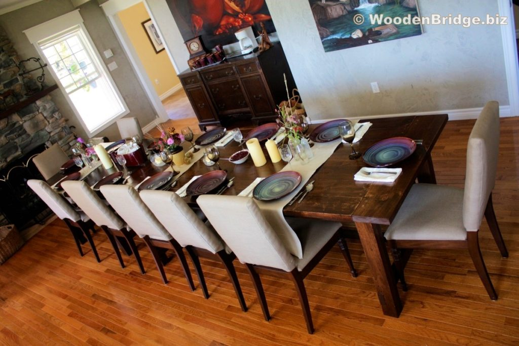 Reclaimed Wood Dining Table Ideas - 1200 x 800