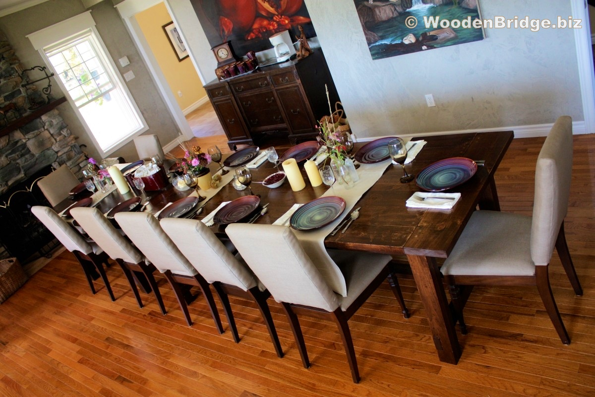 Reclaimed Wood Dining Table Ideas – 1200 x 800