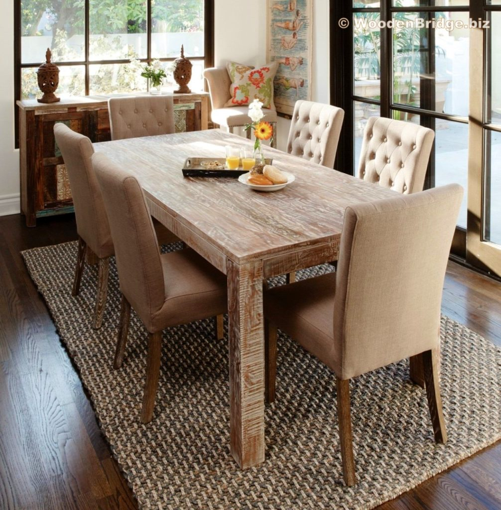 Reclaimed Wood Dining Table Ideas - 1257 x 1280