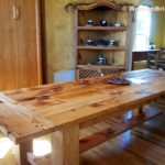Reclaimed Wood Dining Table Ideas - 1400 x 1050