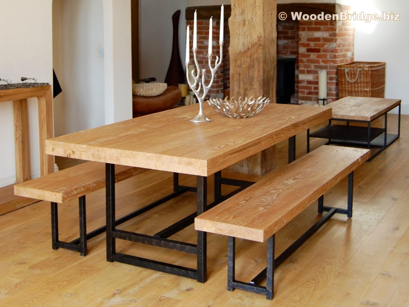 Reclaimed Wood Dining Table Ideas - 1600 x 1200