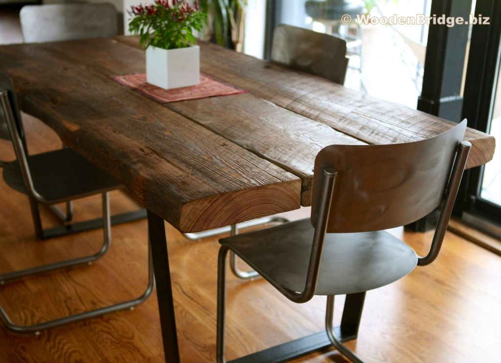 Reclaimed Wood Dining Table Ideas - 1658 x 1200