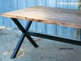 Reclaimed Wood Dining Table Ideas   225 x 150