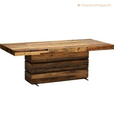 Reclaimed Wood Dining Table Ideas - 236 x 236 1