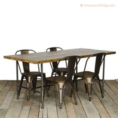 Reclaimed Wood Dining Table Ideas - 236 x 236 2