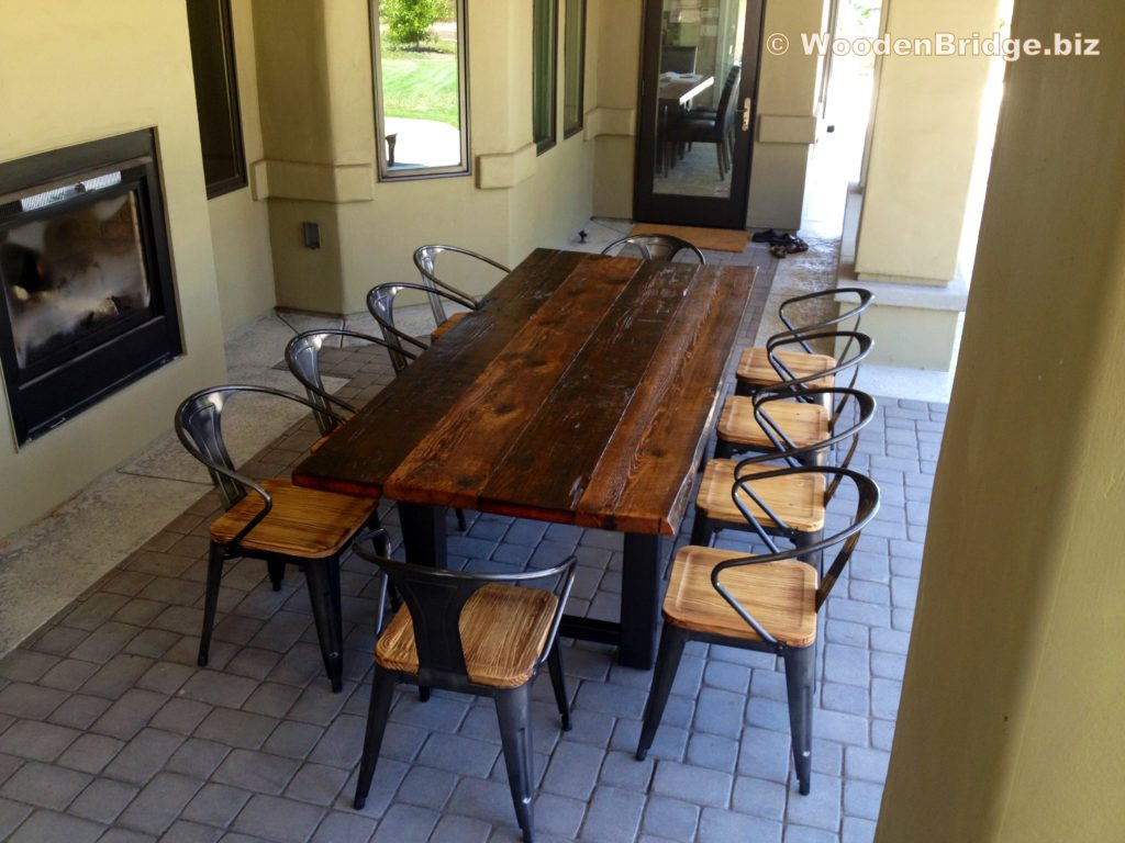 Reclaimed Wood Dining Table Ideas - 3264 x 2448