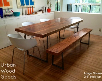 Reclaimed Wood Dining Table Ideas - 340 x 270