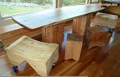 Reclaimed Wood Dining Table Ideas - 393 x 251