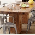 Reclaimed Wood Dining Table Ideas - 443 x 317