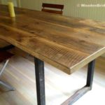 Reclaimed Wood Dining Table Ideas - 450 x 351