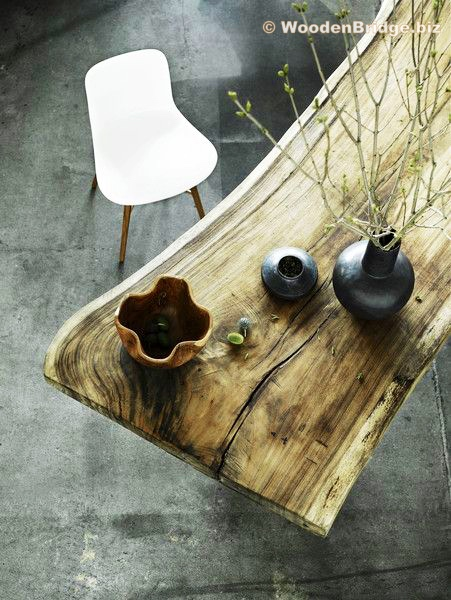 Reclaimed Wood Dining Table Ideas - 451 x 600