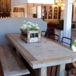 Reclaimed Wood Dining Table Ideas - 470 x 403