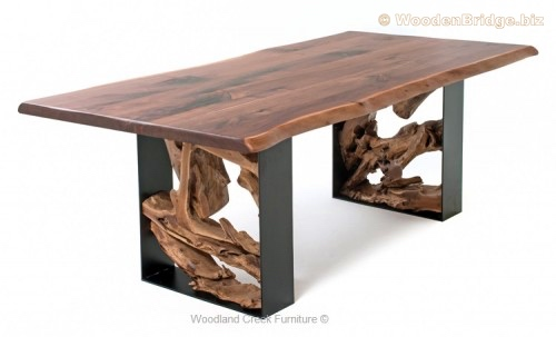 Reclaimed Wood Dining Table Ideas - 500 x 303