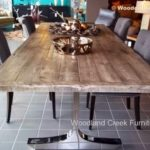 Reclaimed Wood Dining Table Ideas - 500 x 372