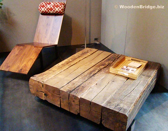 Reclaimed Wood Dining Table Ideas - 537 x 420