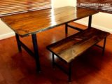 Reclaimed Wood Dining Table Ideas – 570 x 420