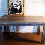 Reclaimed Wood Dining Table Ideas - 570 x 461