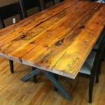 Reclaimed Wood Dining Table Ideas - 598 x 800
