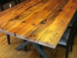 Reclaimed Wood Dining Table Ideas – 598 x 800