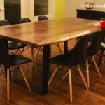 Reclaimed Wood Dining Table Ideas - 600 x 406