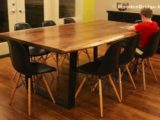 Reclaimed Wood Dining Table Ideas   600 x 406