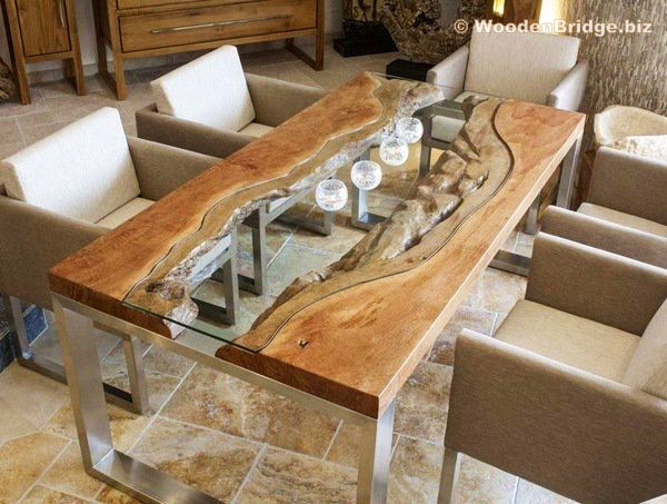 Reclaimed Wood Dining Table Ideas - 600 x 453