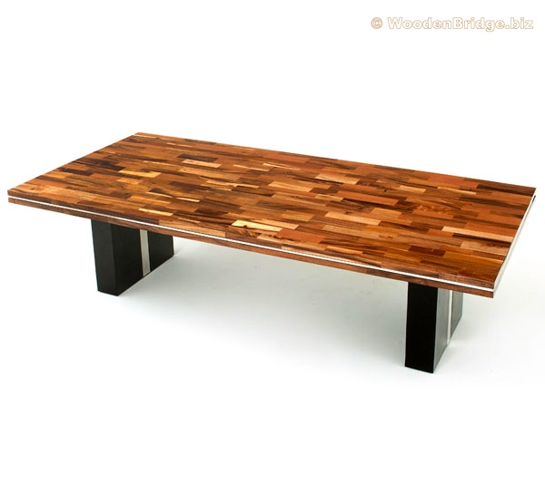 Reclaimed Wood Dining Table Ideas - 600 x 535