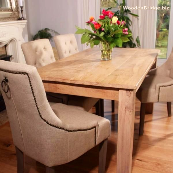 Reclaimed Wood Dining Table Ideas - 600 x 600 1