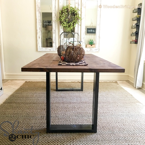 Reclaimed Wood Dining Table Ideas - 600 x 600